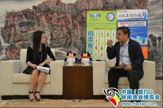 台湾休闲渔业发展协会秘书长何立德先生